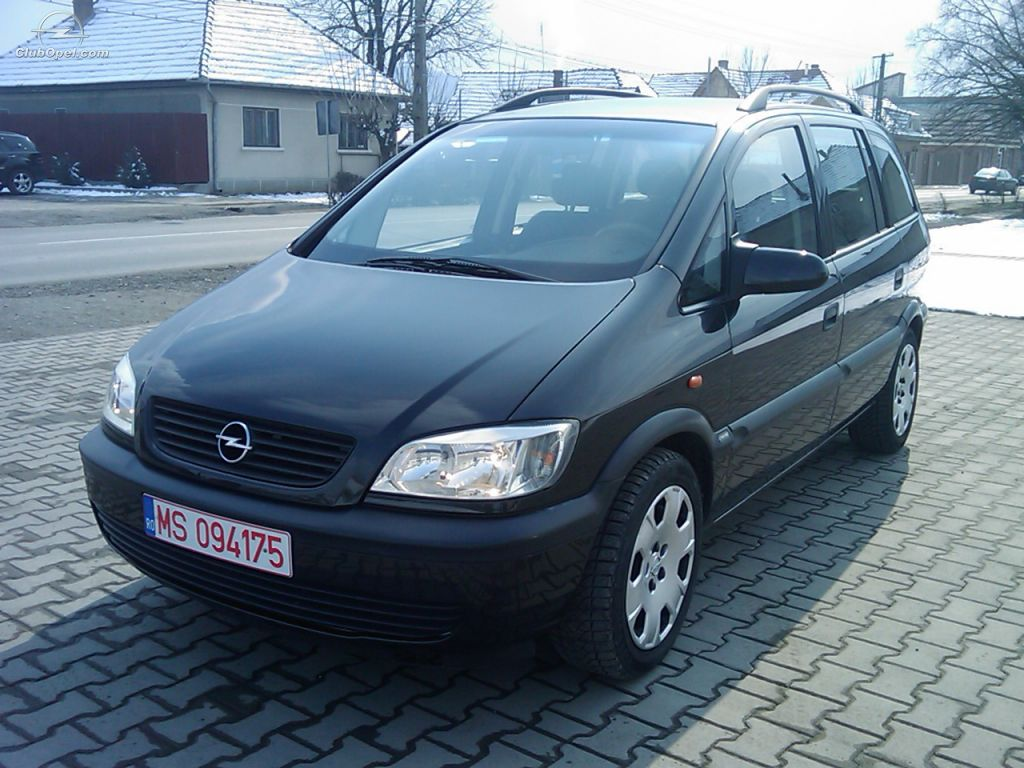 vand opel zafira 2001. Black Bedroom Furniture Sets. Home Design Ideas