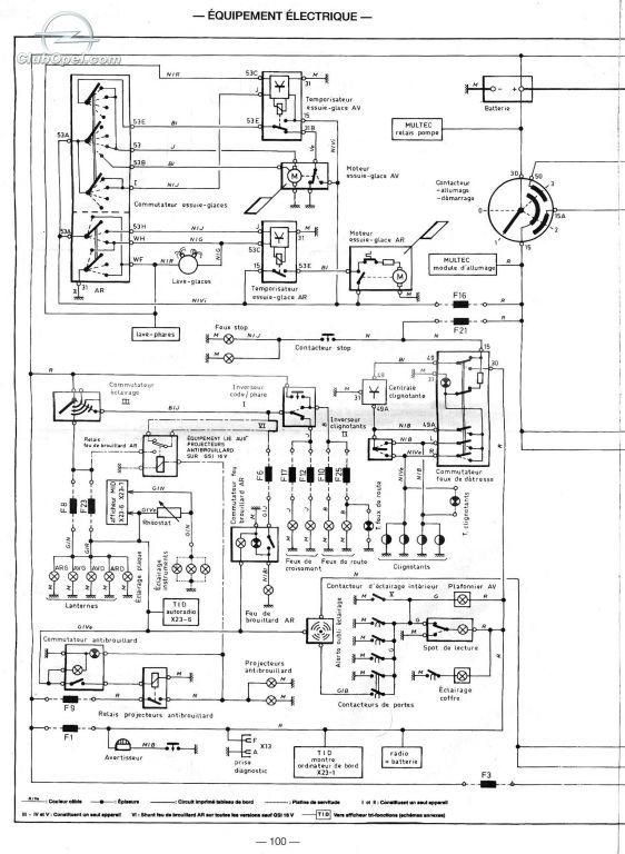 Schema Elettrico Opel Corsa C : Corsa b scheme probleme electrice pagina