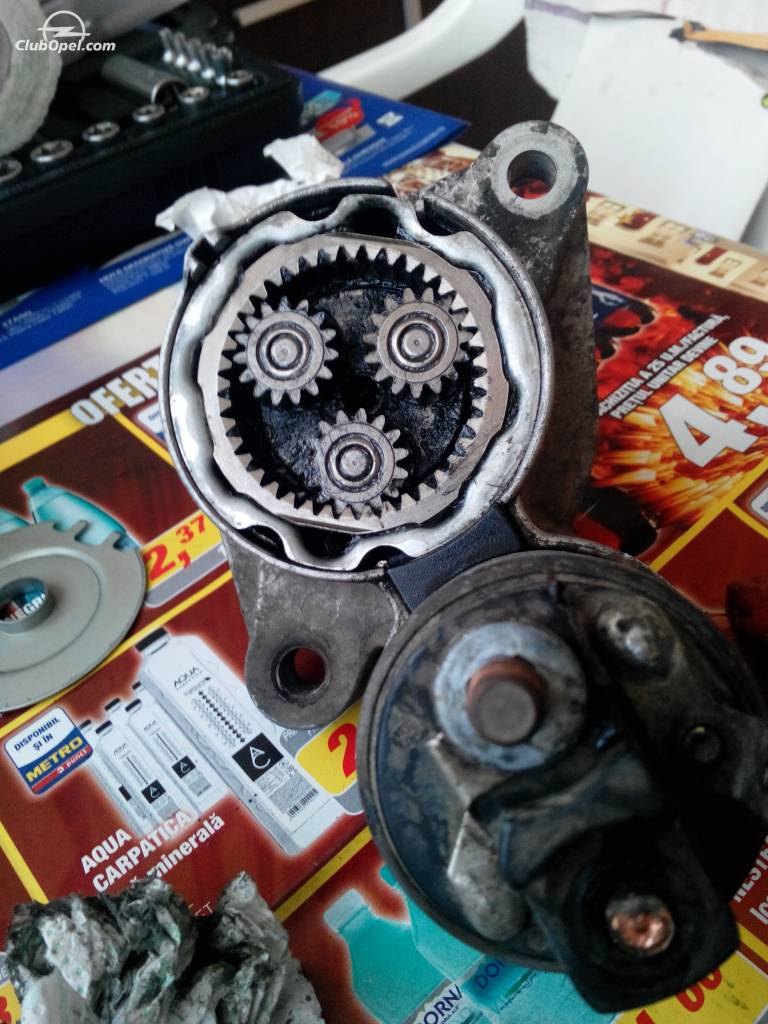 tutorial demontare electromotor astra h 1.7cdti
