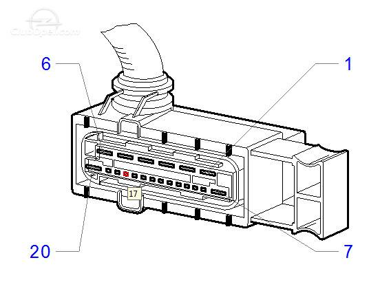 astra g  probleme calculator racire  cooling module